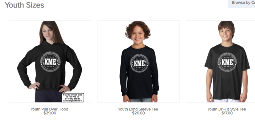 KME Spirit wear orders