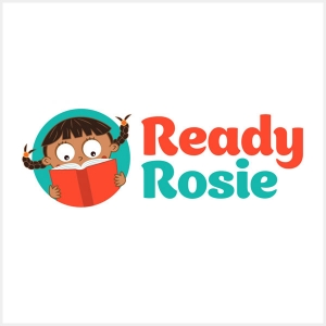 ready rosie girl reading book