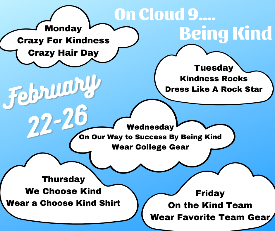 Being Kind Dress Up Week Image