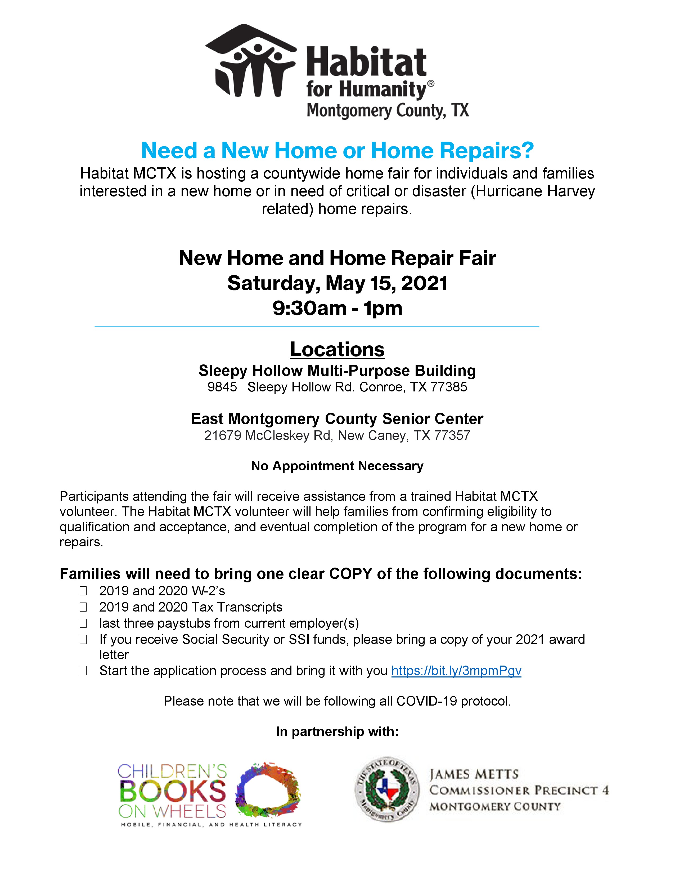 Habitat for Humanity hosts countywide home fair.