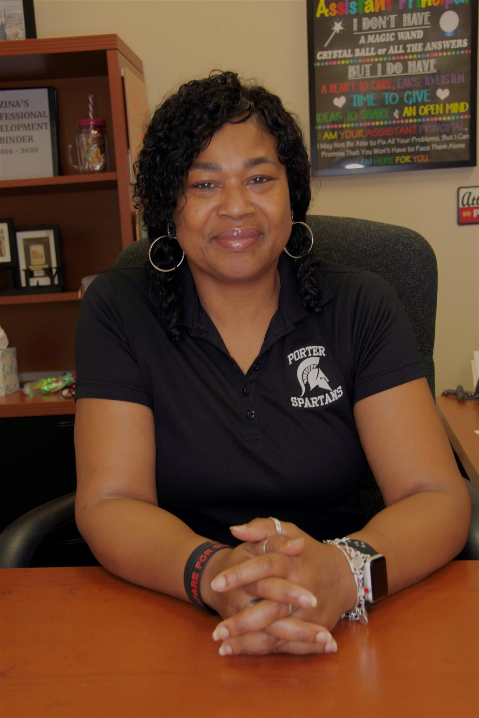 Ms. Zina Robinson- Assistant Principal: Freshmen/Transition, Campus Behavior Coordinator