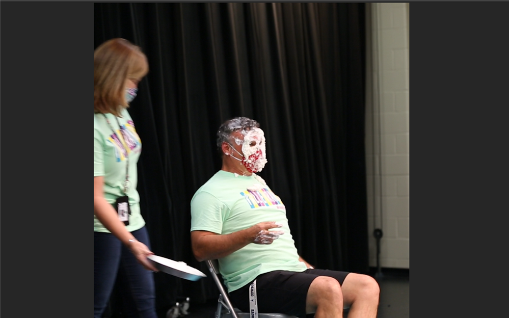 Valley Ranch Elementary Pie in Face Election