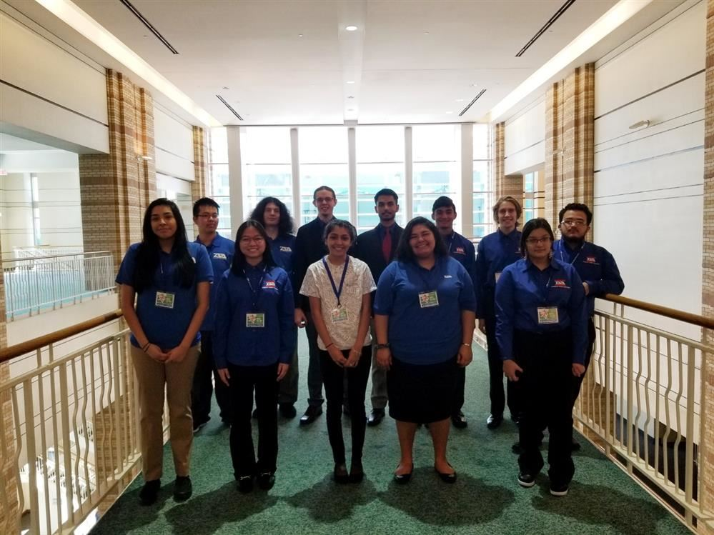 Porter HS Technology Student Association competes at the TSA State Competition