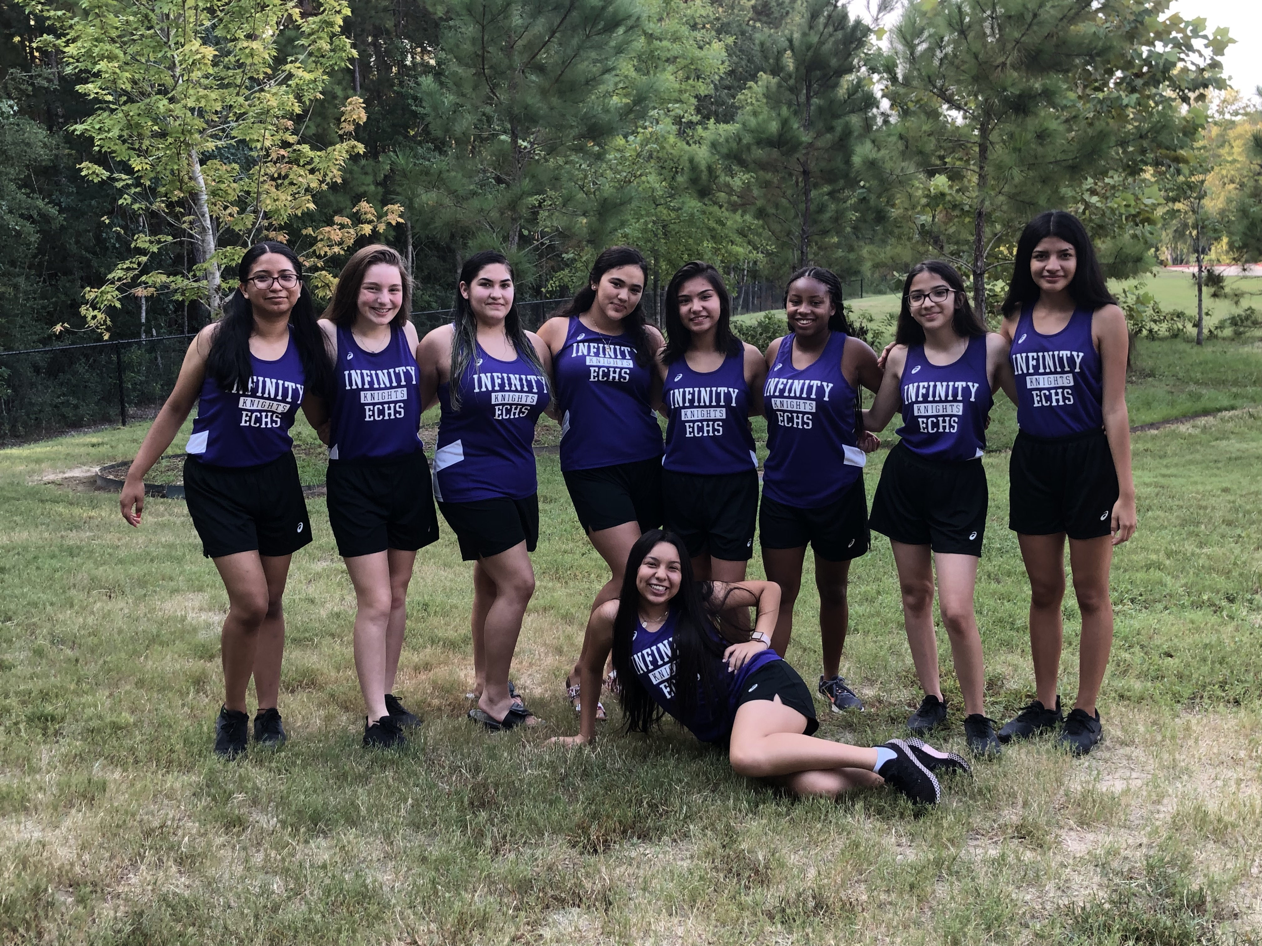 Girls Cross Country Team 2019