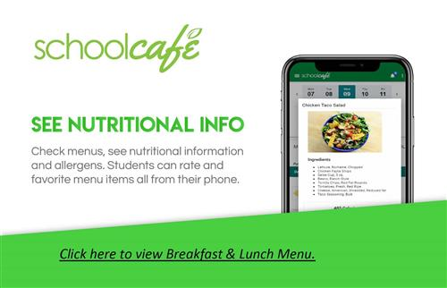 Click here to view lunch menu
